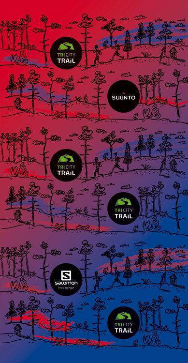 chusta wielofunkcyjna TriCity Trail