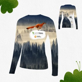 longsleeve CITY TRAIL damski