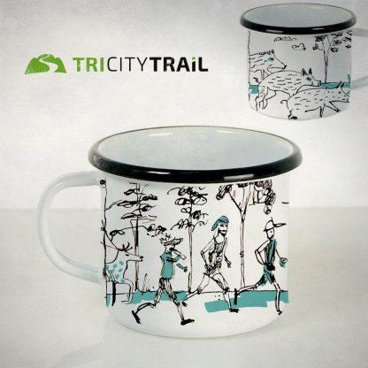 Kubek metalowy TriCity Trail