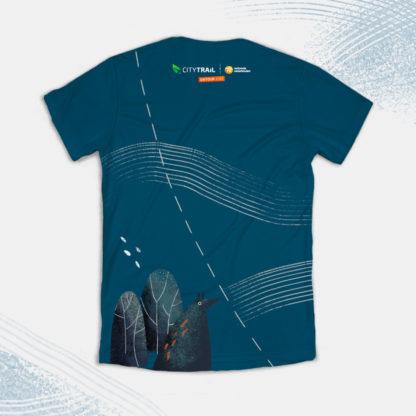 Koszulka techniczna CITY TRAIL onTour męska, granatowa - PRZEDSPRZEDAŻ